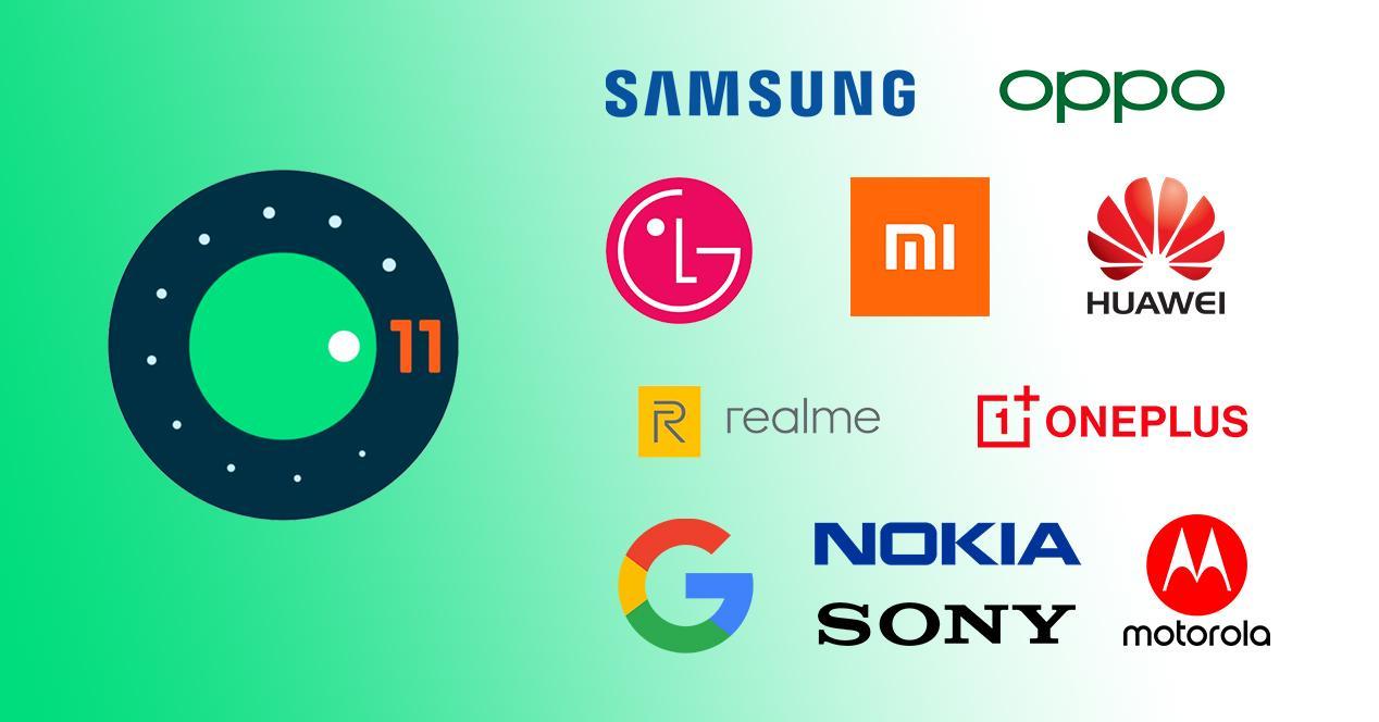Móviles Android 11 actualización