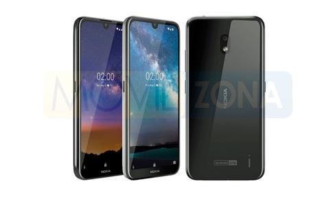 Nokia 2.2 diseño