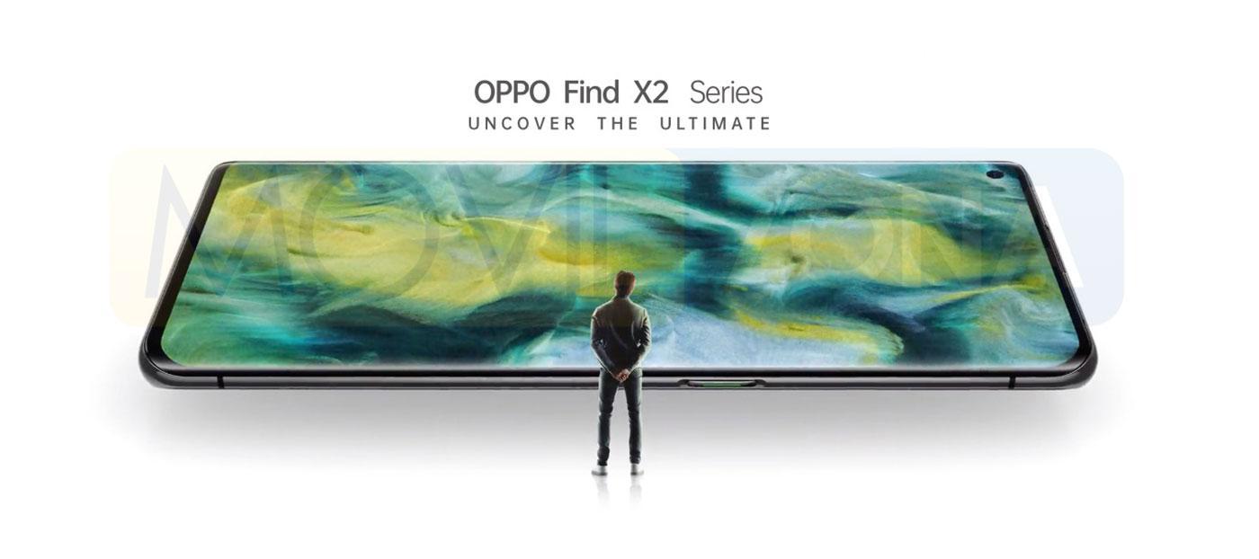 OPPO Find X2 pantalla