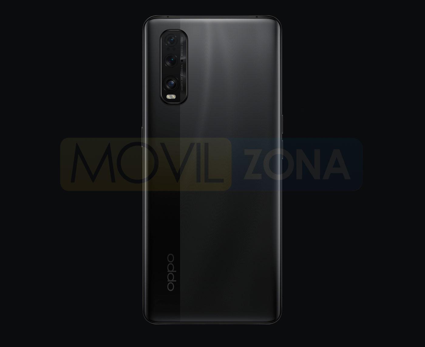 OPPO Find X2 cámara negro