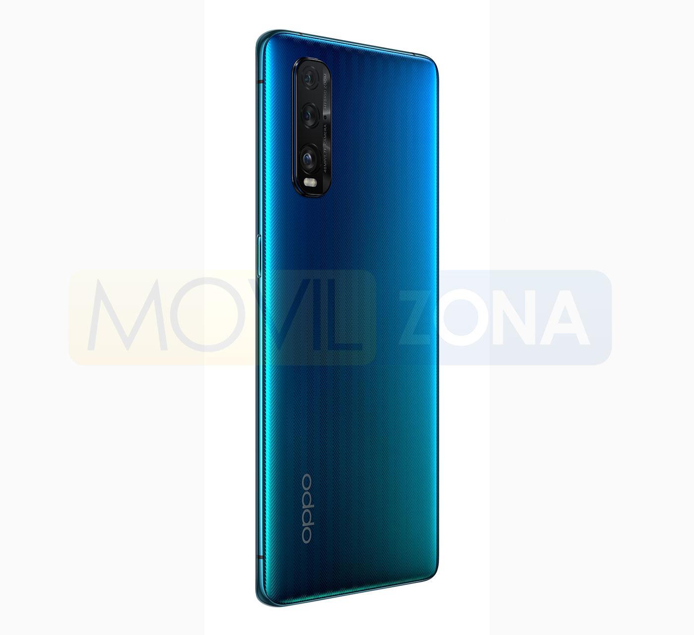 OPPO Find X2 azul
