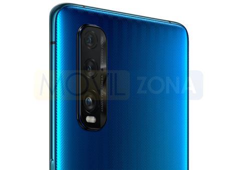 OPPO Find X2 cámara azul