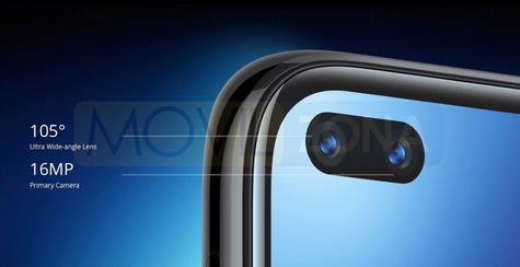 Realme 6 Pro cámara delantera