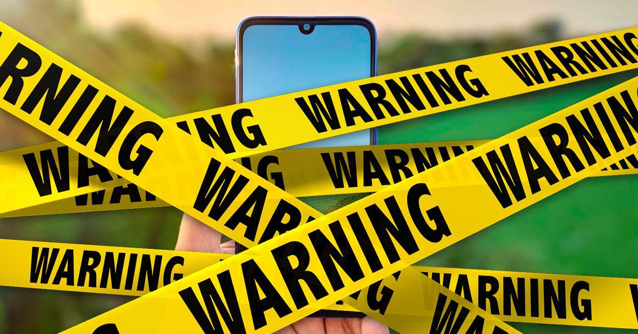 Redmi Note 7 warning
