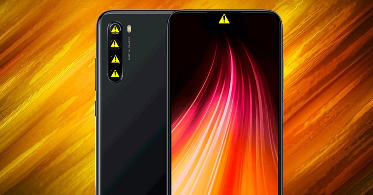Redmi Note 8 problemas camaras