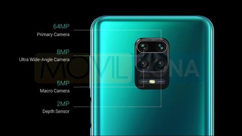 Redmi Note 9 Pro cámara