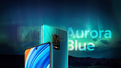 Redmi Note 9 Pro Max azul