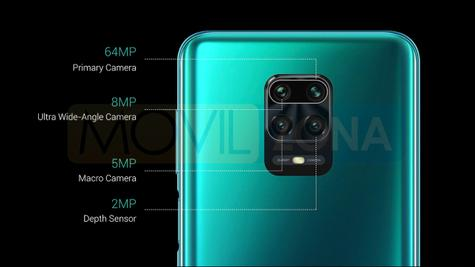 Redmi Note 9 Pro Max cámaras