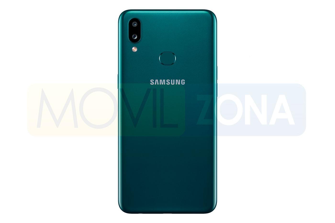 Samsung Galaxy A10s verde