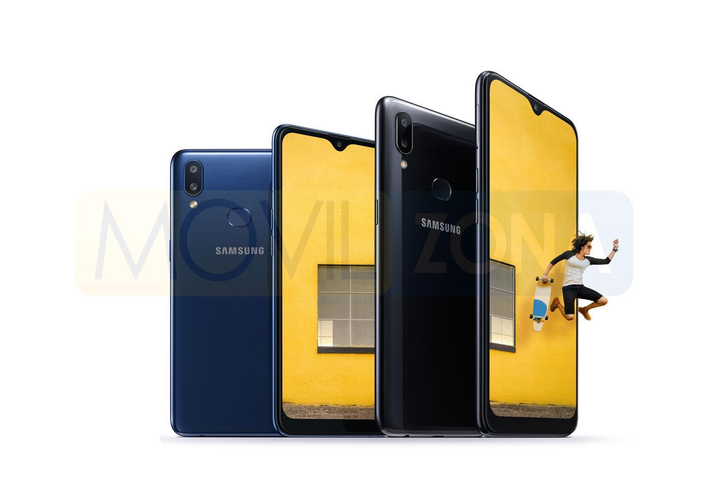 Samsung Galaxy A10s diseño