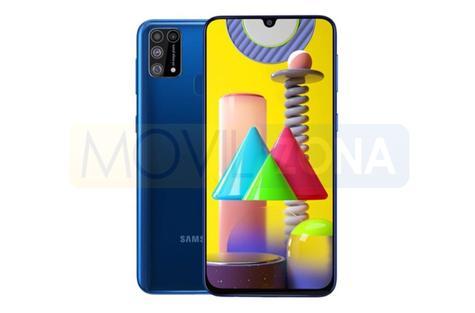 Samsung Galaxy M31 pantalla