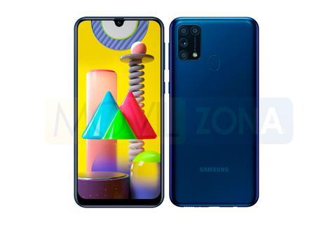 Samsung Galaxy M31 diseño