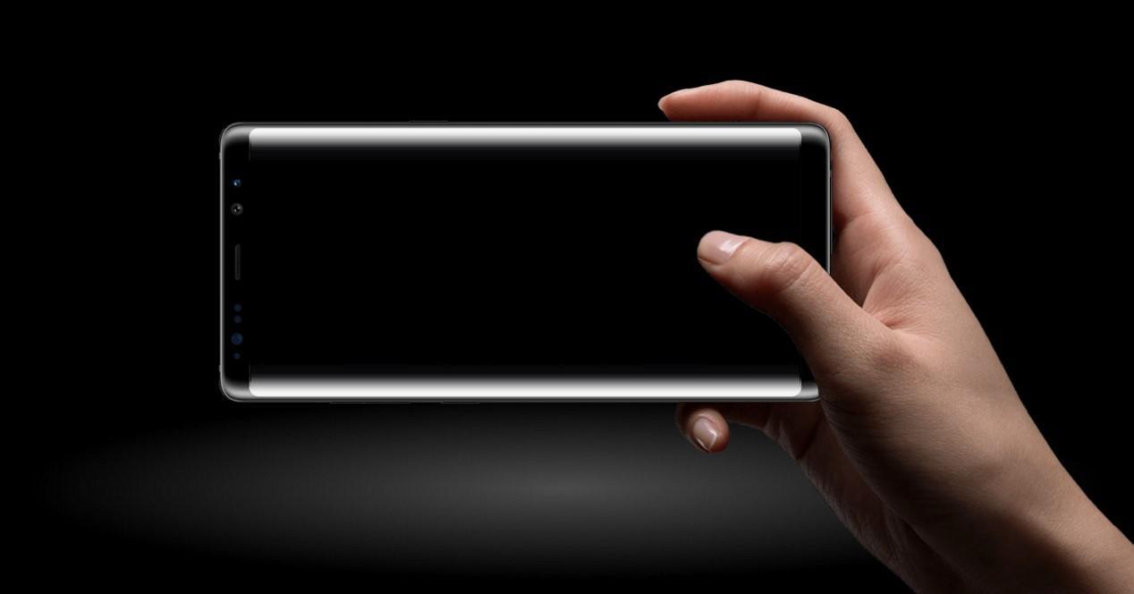 Samsung pantalla negra