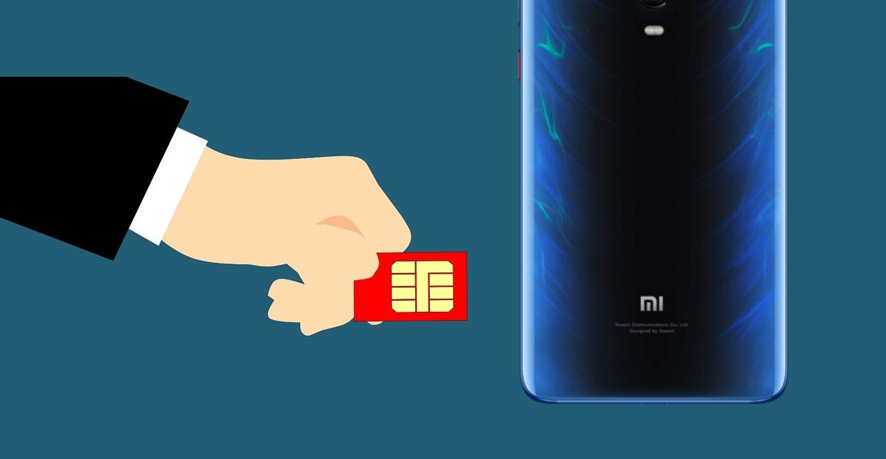 Xiaomi tarjeta SIM