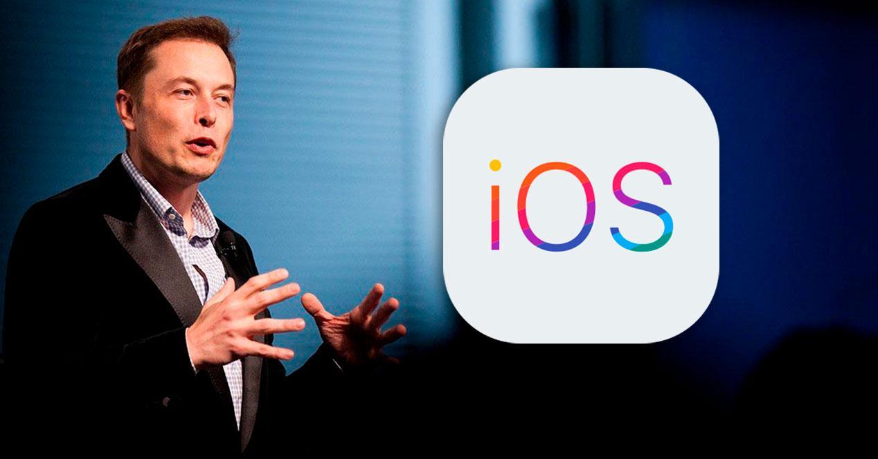 elon musk iOS