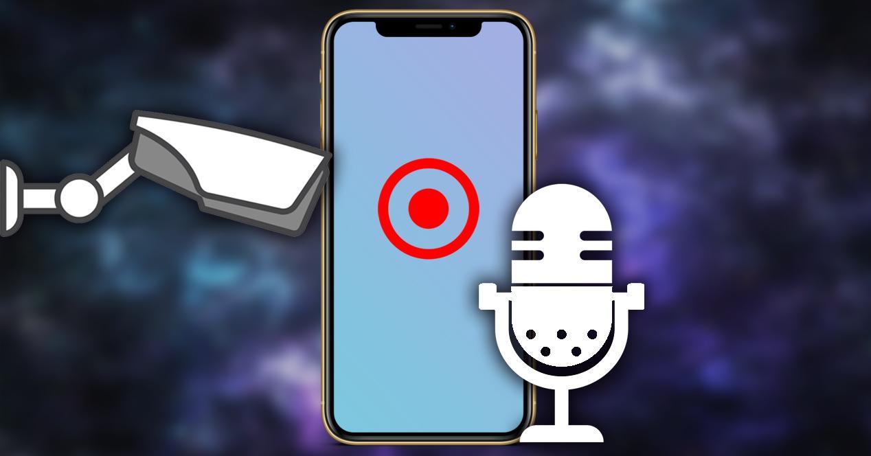 grabar pantalla sonido iphone iOS 13 portada