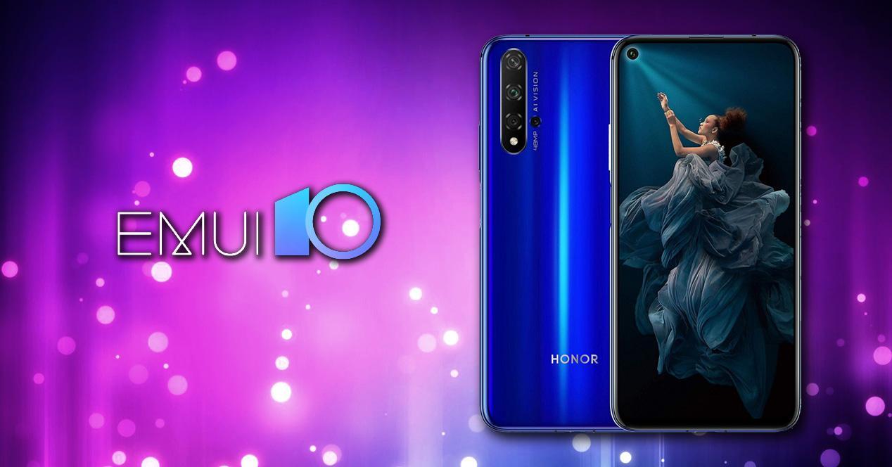 móviles Honor EMUI 10