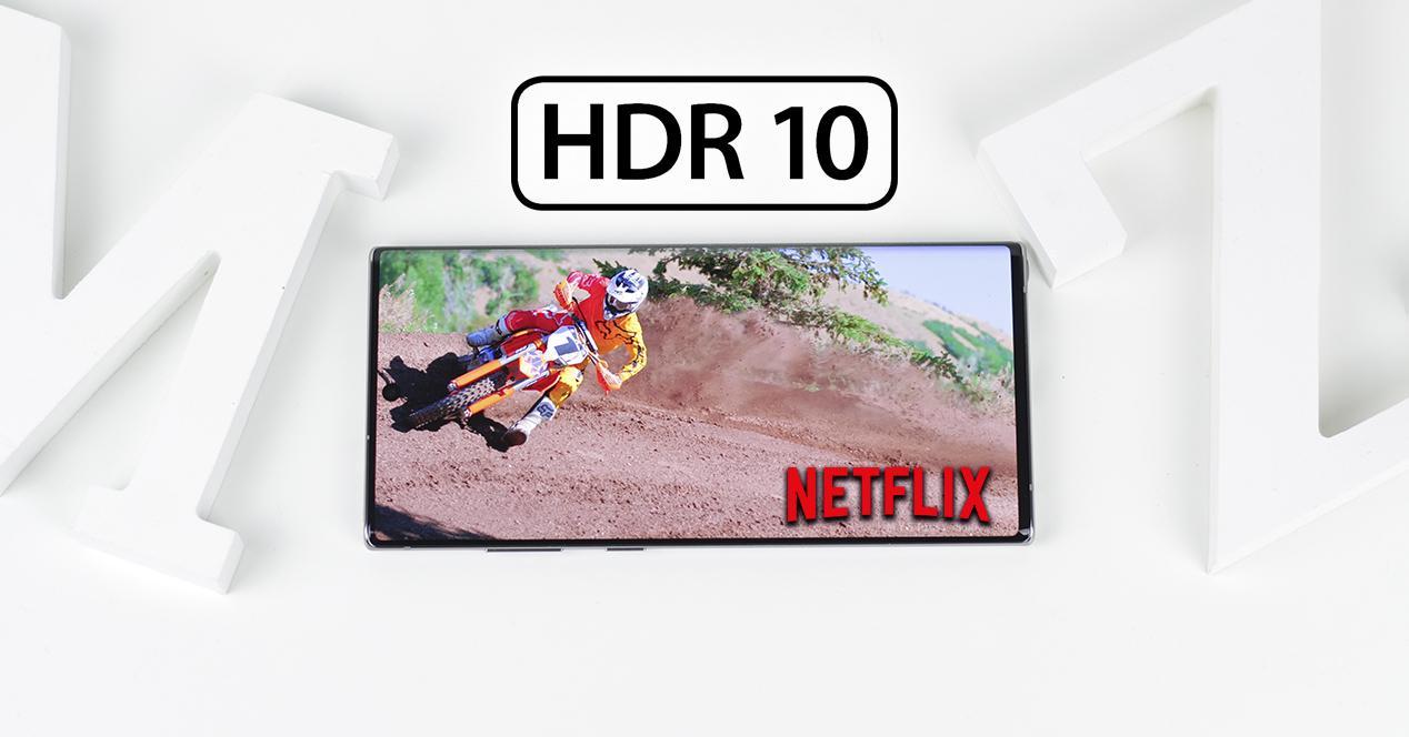 móviles Samsung HDR10