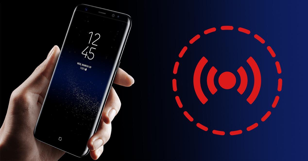 problemas error sensores samsung galaxy s8
