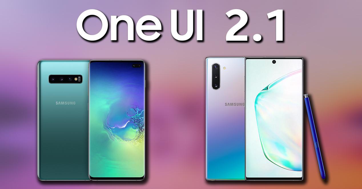 Actualizacion One UI 2.1