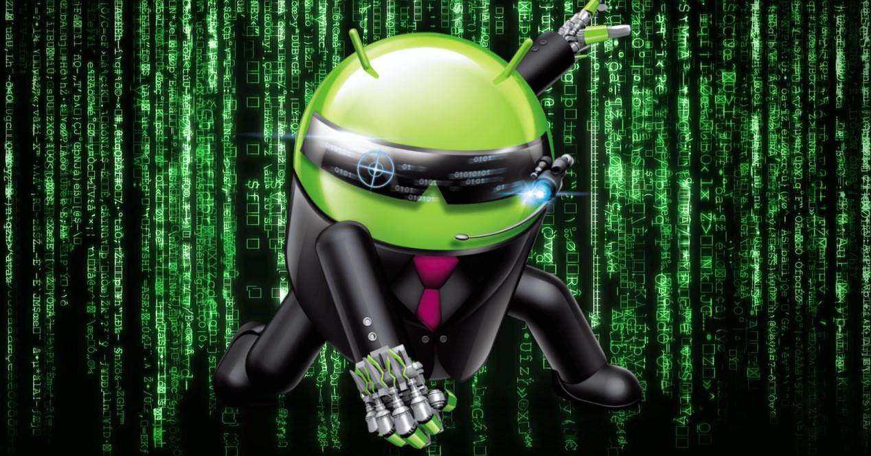 Android estilo matrix