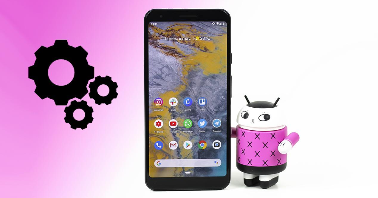 Aplicaciones predeterminadas Android