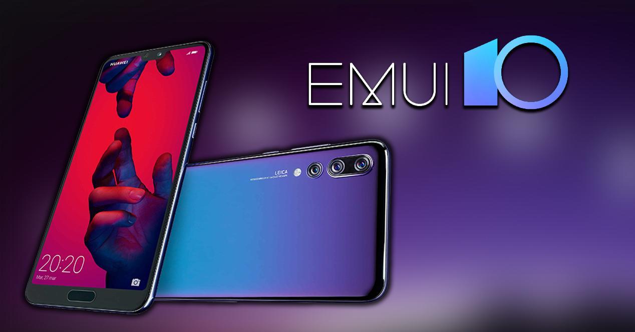 EMUI 10 Huawei P20 Pro