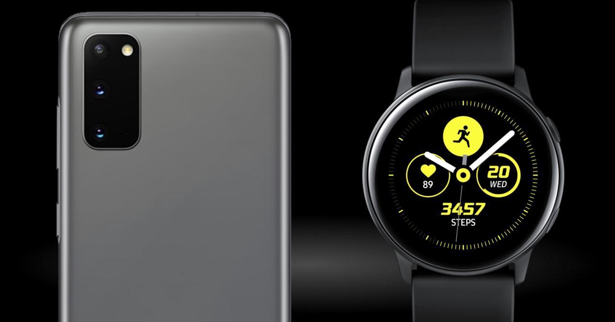 Galaxy S20 Ultra y Watch Active