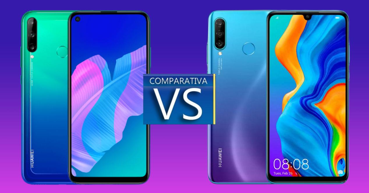 Huawei P30 Lite vs Huawei P40 Lite E