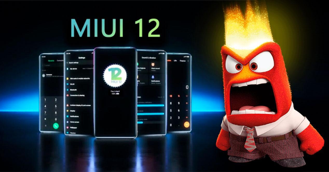 MIUI 12 enfado