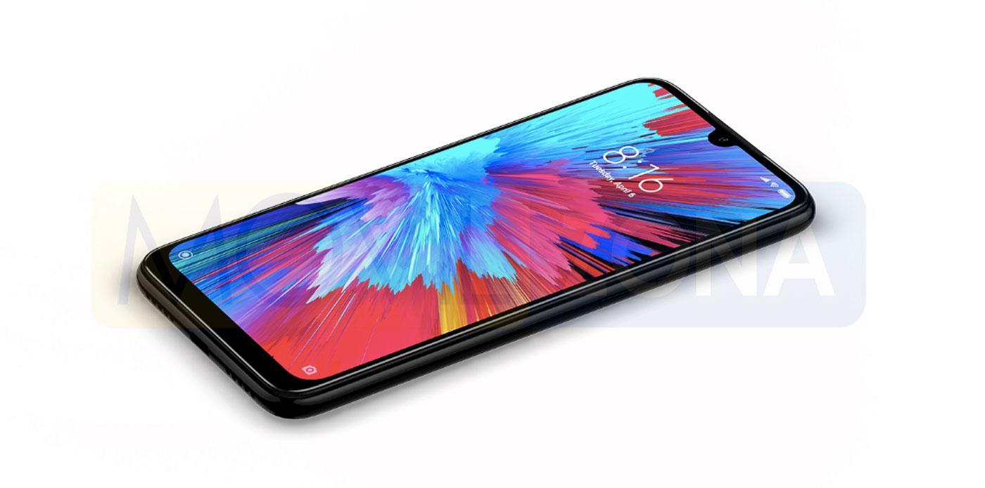 Redmi Note 7S pantalla