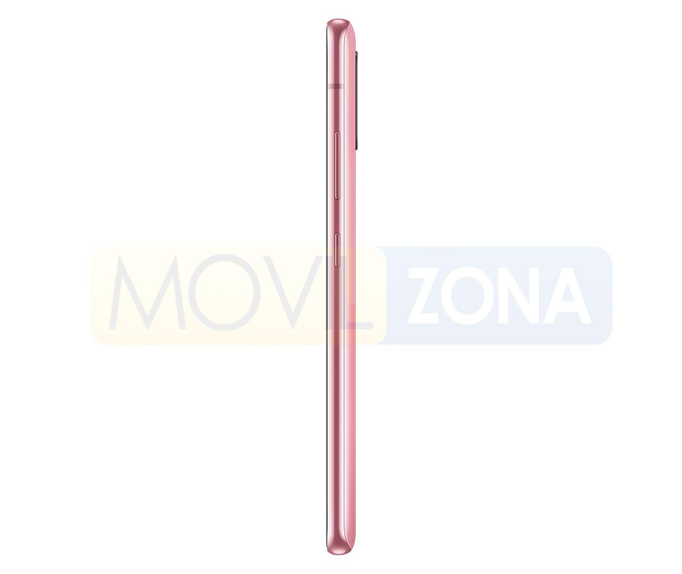 Samsung Galaxy A51 5G perfil rosa