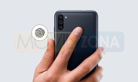 Samsung Galaxy M11 huella