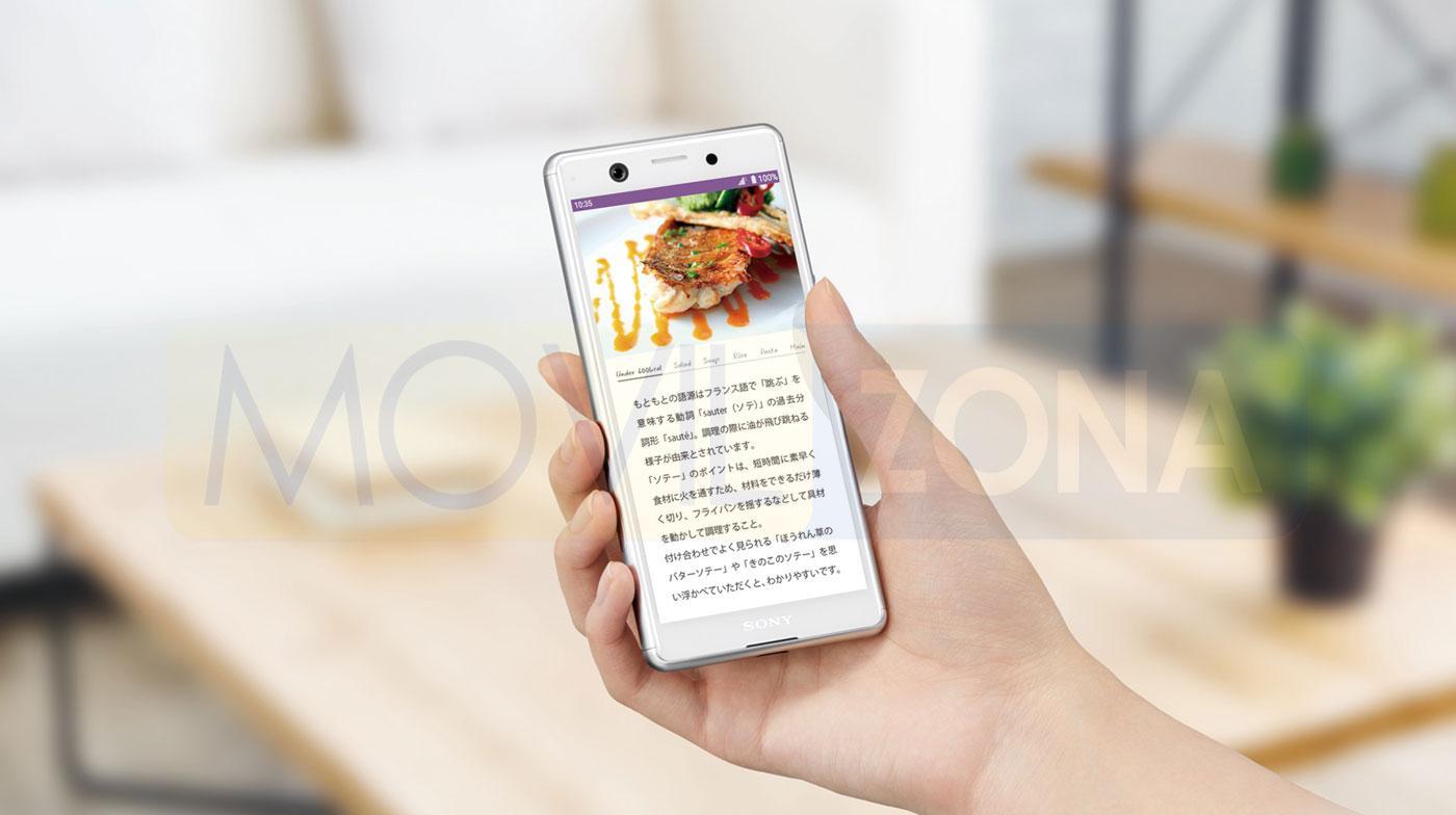 Sony Xperia Ace pantalla