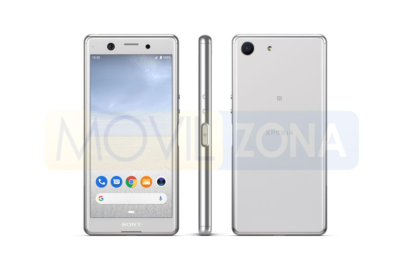 Sony Xperia Ace diseño