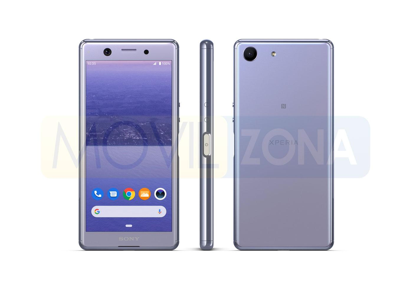 Sony Xperia Ace color