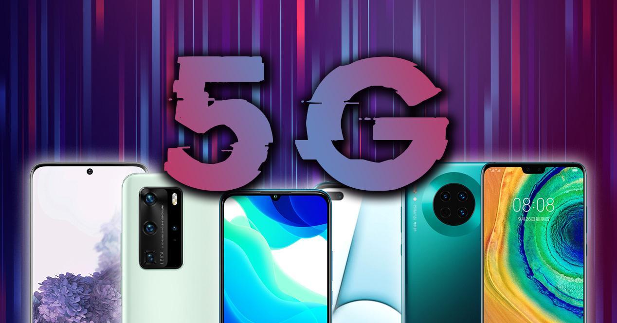 Todos los moviles 5G