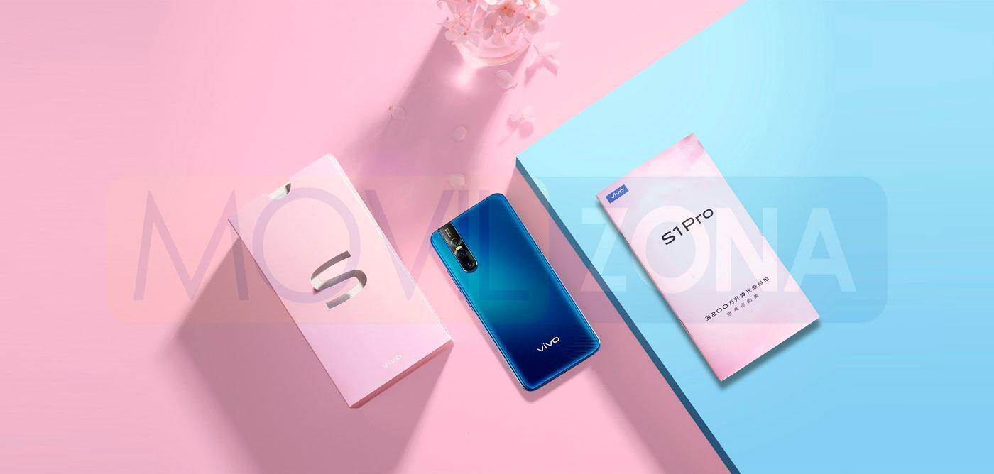 Vivo S1 Pro diseño