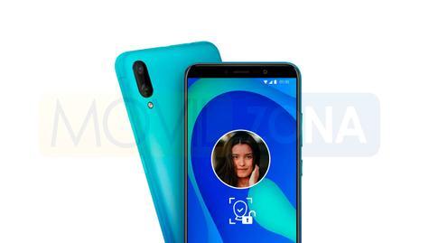 Wiko Y80 azul