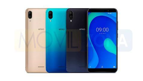 Wiko Y80 colores