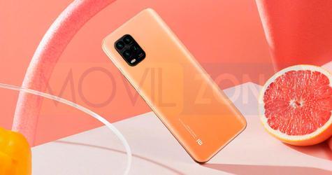 Xiaomi Mi 10 Youth Edition naranja