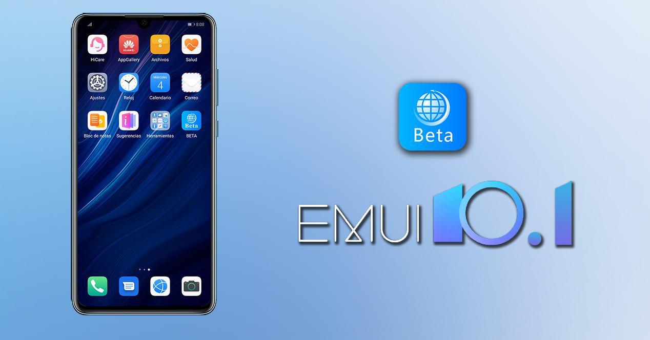 beta Huawei emui 10.1