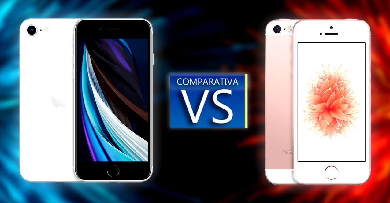 comparativa iphone se 2020 vs iphone se