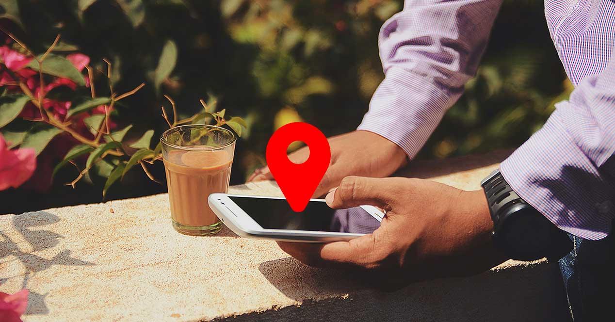 conectividad GPS móvil