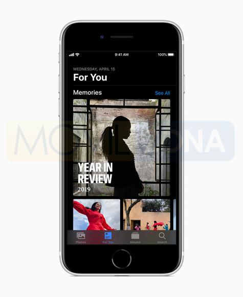 iPhone SE 2020 música