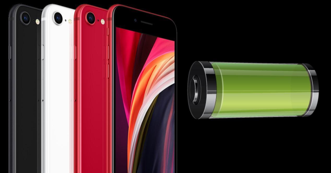 iphone se 2020 colores y bateria