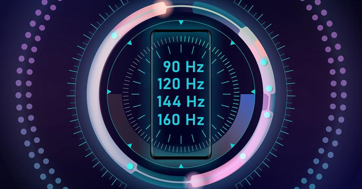 móviles tasa de refresco 90 hz o más