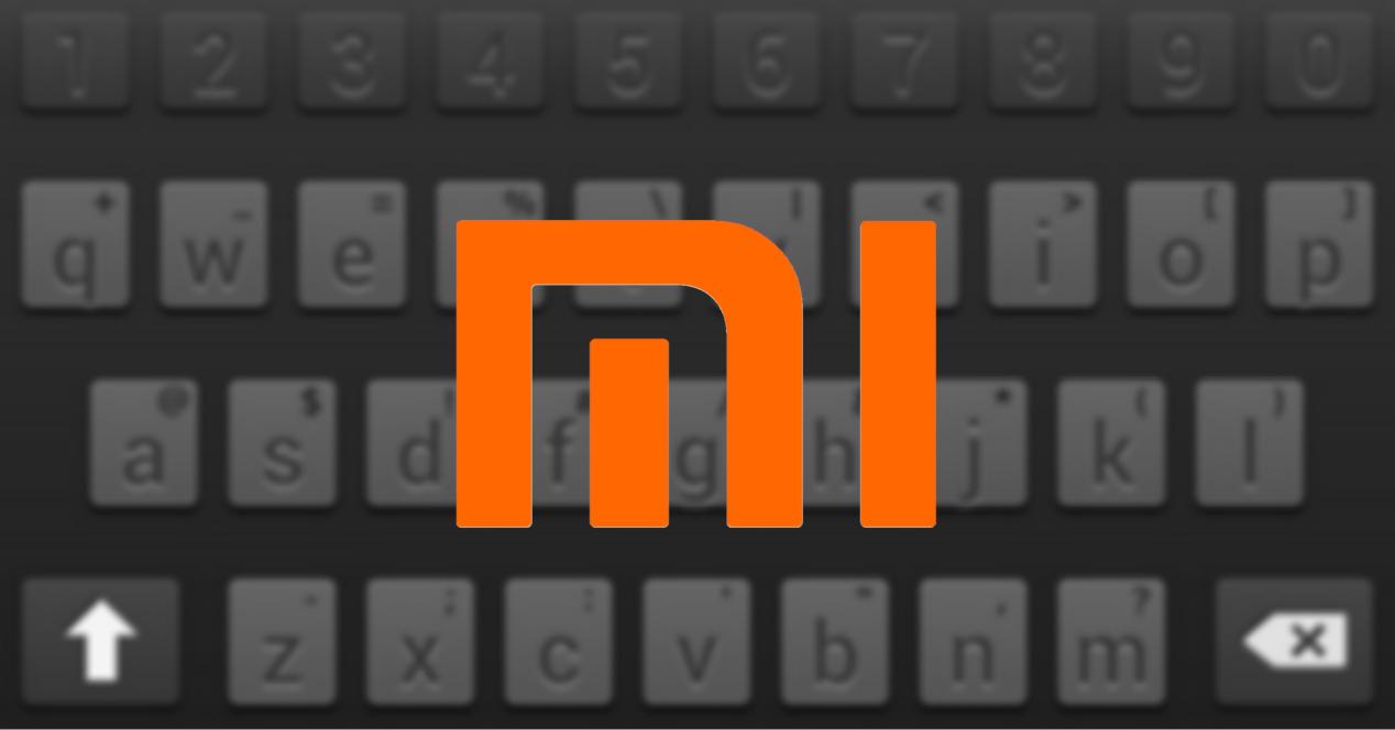 xiaomi logo con teclado
