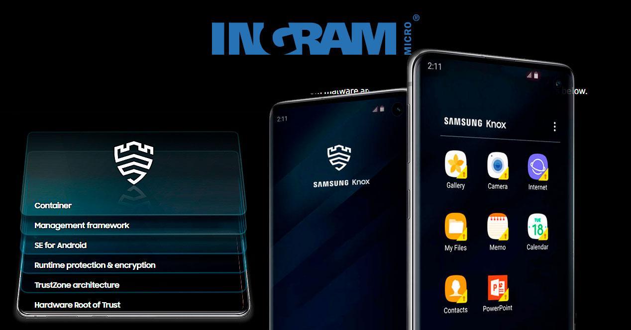 Ingram micro con Samsung Knox