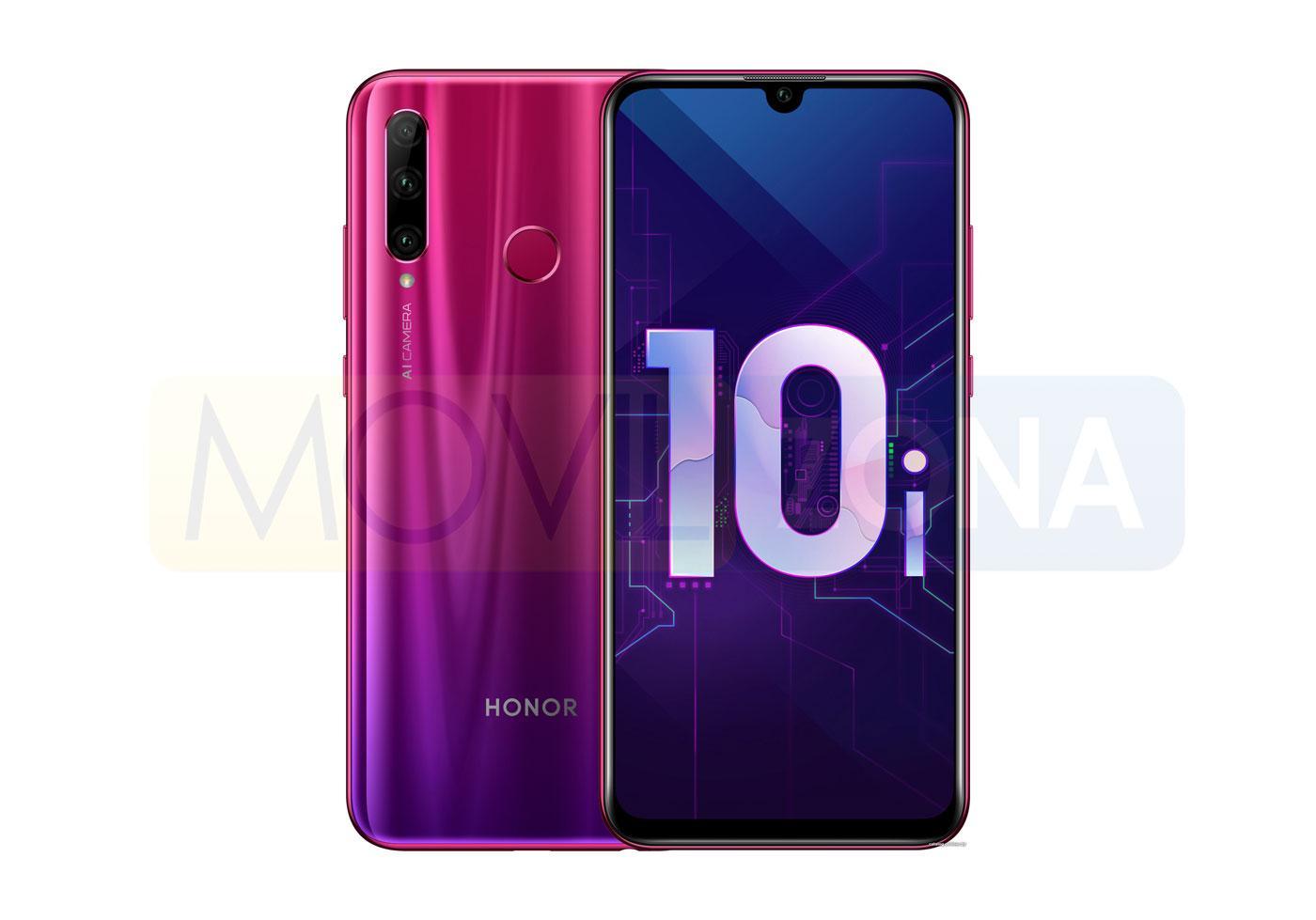 Honor 10i diseño